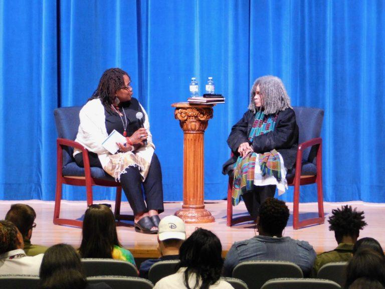 Dr. Amoaba Gooden & Sonia Sanchez, 2019